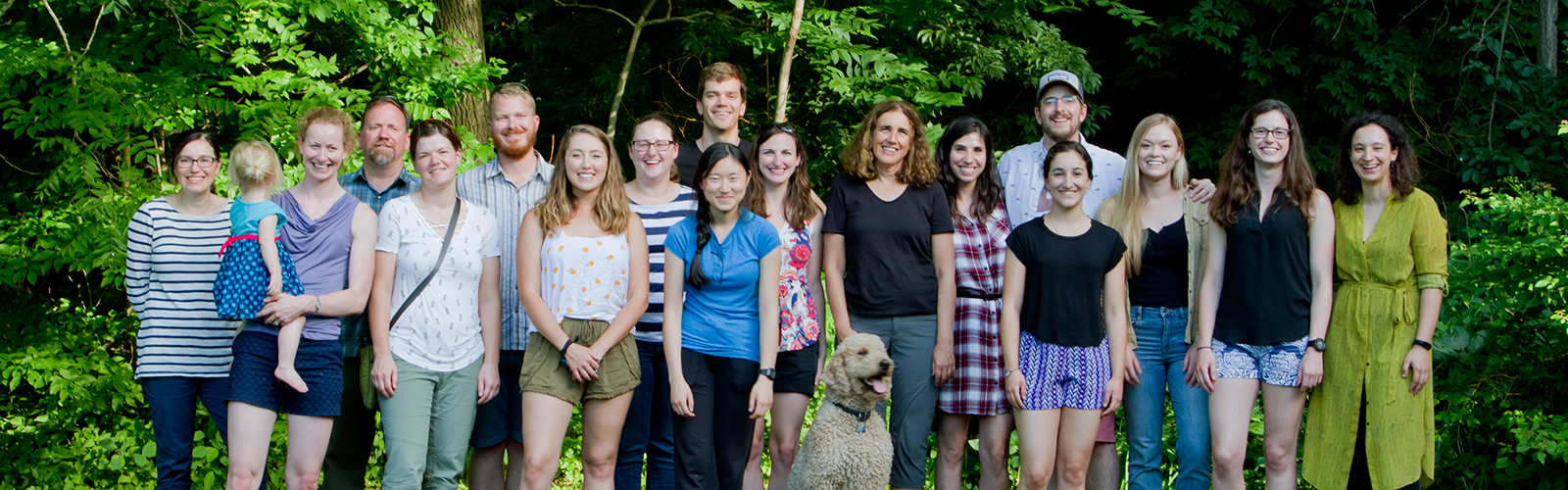 Picture of all Huttenlocher lab members on 2018